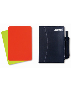 A2000 Yellow and Red cards book + pen